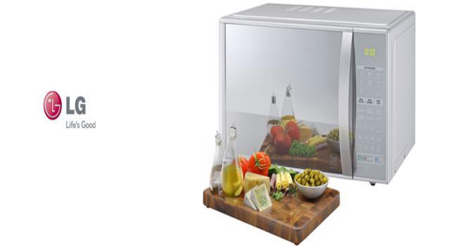Micro-ondas 30 Litros Grill Easy Clean Com Puxador – LG